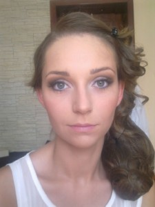 After Wedding Makeup Application
