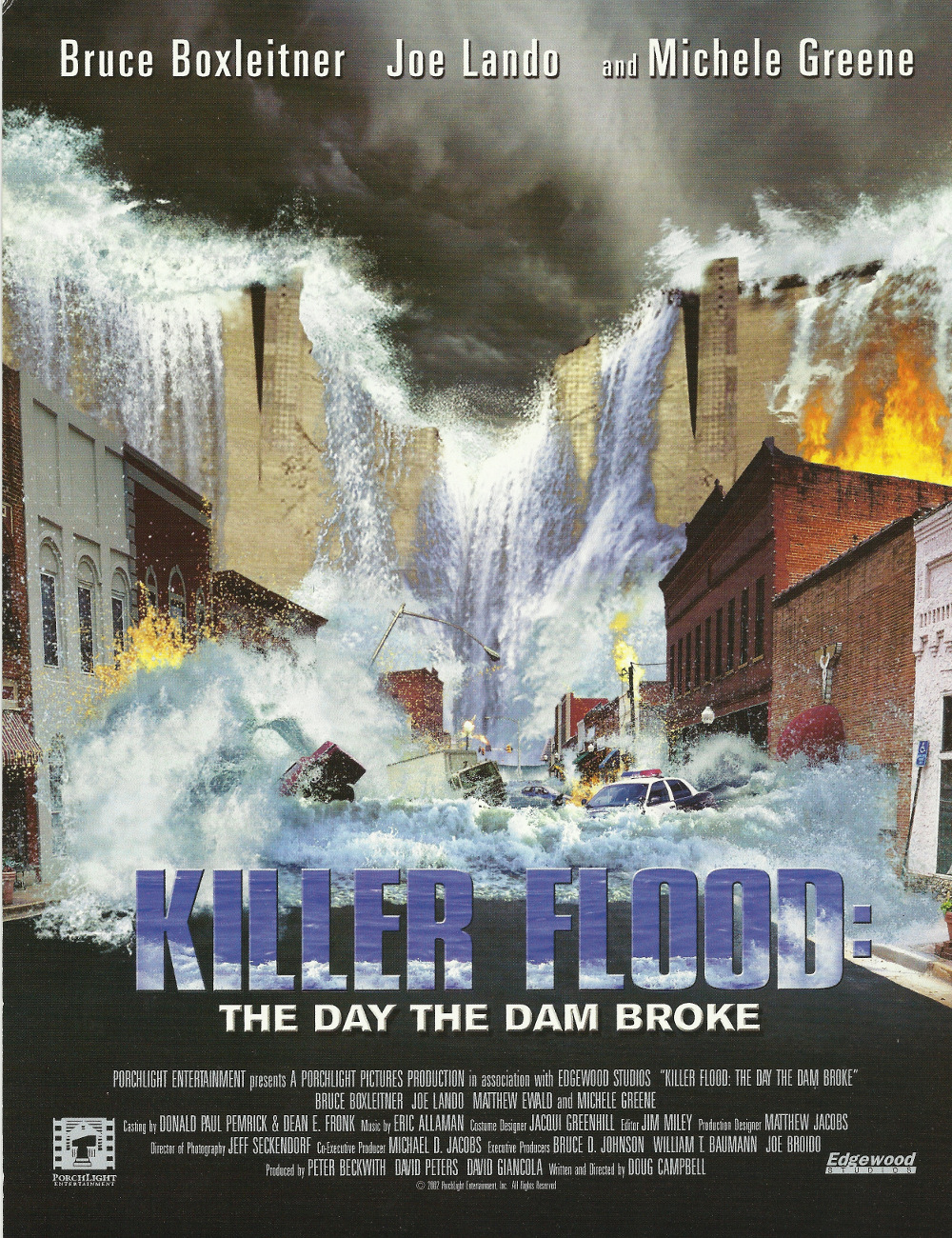 Killer Flood The Day The Dam Broke Movie