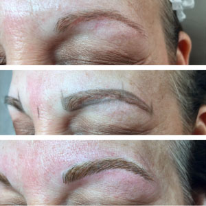 Permanent Makeup Three Stages