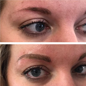 Permanent Eyebrows Powder Fill
