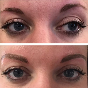 Permanent Eyebrows Hair Stroke