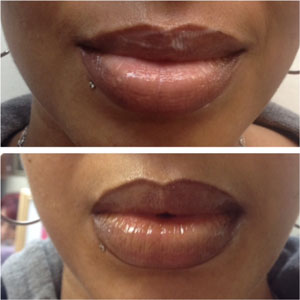 Tattoo Lips Shading