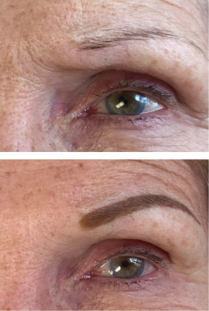 Permanent Shaded Eyebrows