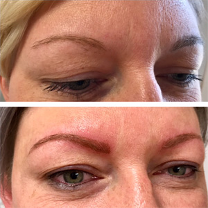 Sculpted Permanent Cosmetic Eyebrows