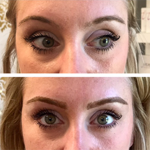Fuller Eyebrows with Permanent Makeup
