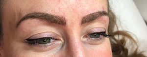 Shaded Eyebrows Tattoo