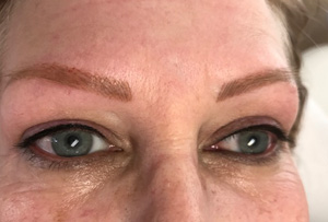 Shapely Eyebrows Indelible Tattoo Makeup