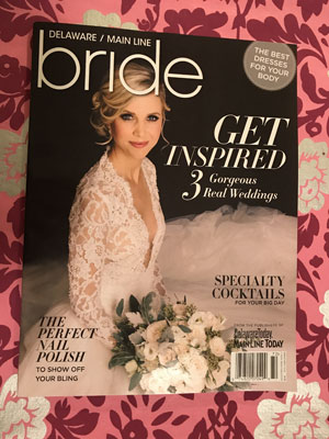 Bridal magazine cover