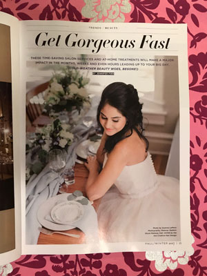 Inside bride magazine
