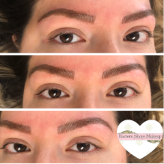 Permanent Eyebrow Makeup Before and After